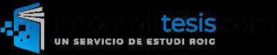 Imprimirtesis.com  |  Imprimir y encuadernar tesis doctorales |  Estudi Roig